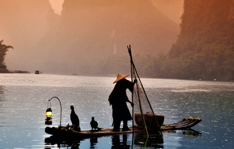 Guilin in the water