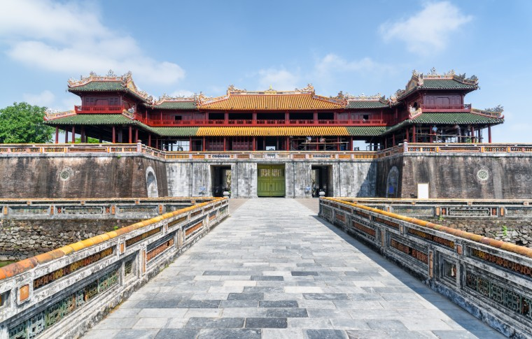 Meridian Gate to the Imperial City within the Citadel in Hue