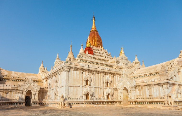 Ananda Temple in Old Bagan